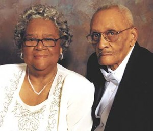 Emily and Napoleon Crocker will celebrate their 65th wedding anniversary today, Jan. 29.