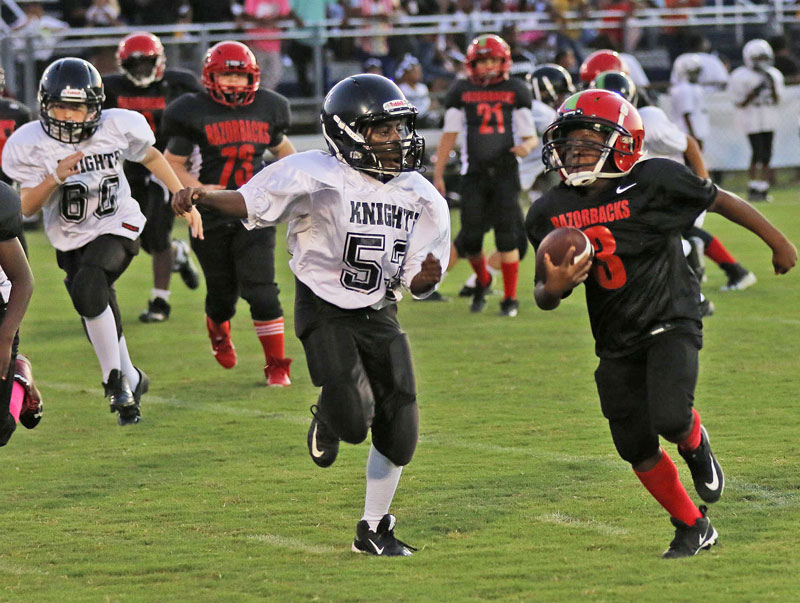 Franklin Youth Open Season Of Football Cheer The Tidewater News The Tidewater News