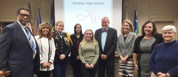 windsor high school all american cheerleader