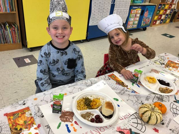 carrsville elementary kindergarten thanksgiving