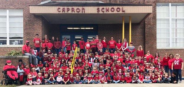 capron elementary red ribbon week