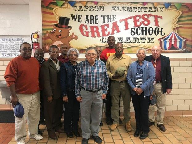 veterans at capron elementary