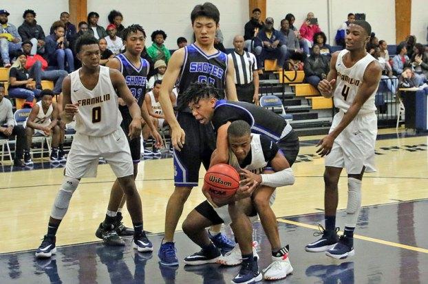 Franklin High School basketball versus Atlantic Shores