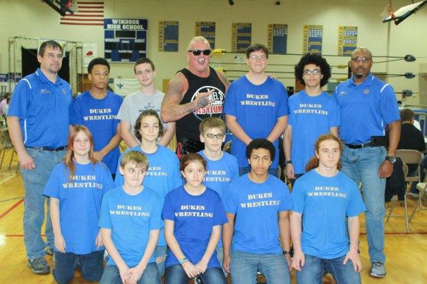 VCW wrestling at Windsor High School