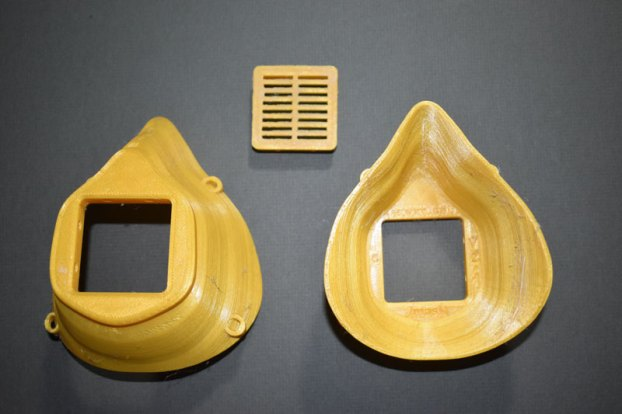 3D printed face masks