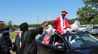 Southampton High School graduation parade