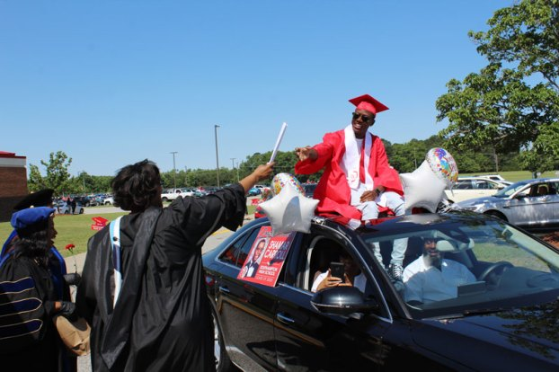 Southampton High School graduation parade