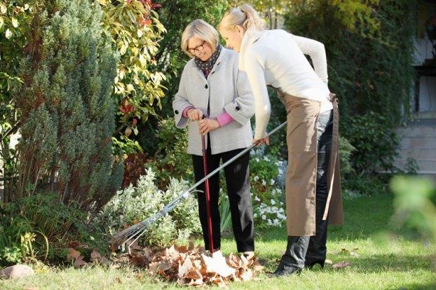seniors and gardening