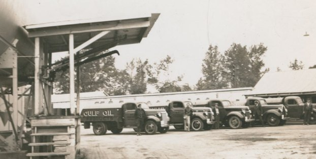 gulf oil trucks