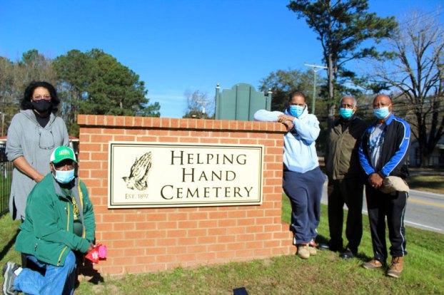 helping hand cemetery radar